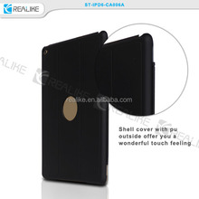 Magnetic Smart Cover & Snap-on PC Rear Case for Apple iPad Air 2