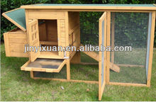 Wooden chicken coop with large run/wooden hen house