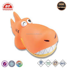 OEM Squeaky Vinyl Big Head Shark Dog