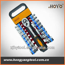 20PCS socket ratchet wrench hardware hand tool for repairing car