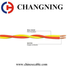 China CCC RVS 2.5mm CU/PVC extra flexible Electric Wire Cable