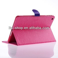 Elegance Hot Buy US New Arrival Crazy Horse Pattern Smart Leather Case for 9.7 Inch Tablet PC Case Crystal 2 Colors
