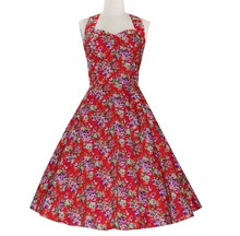 Walson Elegant Style Straps Black Polka Dots Pink Ribbons Gothic Petticoat Dress Pin Ups Rockabilly Swing DRESS XS S M-3XL 4XL