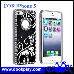 Best Deluxe Luxury Brushed Chrome Aluminum Case For iPhone 5 5G Brushed Metal Hard cover