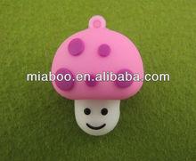 cute mushroom shape usb flash drive,usb pen drive plant,usb stick