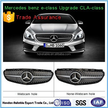 hot for mercedes w212 e-class.w212 amg w212 grille.E180 260 320L AMG shiny diamonds on w212 front grill 2014-2015
