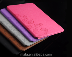 Simple Book Style PU Leather Case With Detachable For Ipad
