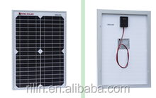 High quality low price elaborate process perfect service Chinese 18V 20W mono solar panel