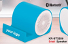 high quality sound horn mini speakers case for iphone 4 silicone case
