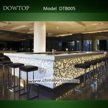 barras de bar de diseño del café de la venta caliente de lujo