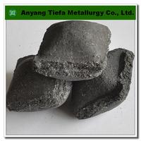 Foundry industry additive ferro silicon briquette , FeSi briquette , ferro silicon ball
