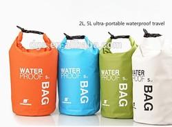 High Qality PVC 500D Camping Cloth 2L 5L 10L PVC Waterproof Dry Bag
