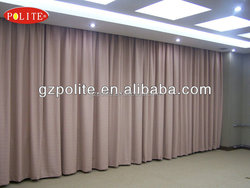 POLITE heavy duty motorized stage curtain with Max.30 meters width and load Max 200KG weight.professional stage curtain motors