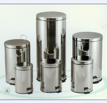 Stainless Steel Step Bin