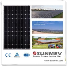 OEM solar panel 260w with full certification,solar panel for roof