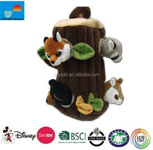 tree hole pet toy/plush pet cat toy/pet toy for cat