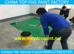 Maydos Oil Base Liquid Heavy Traffic Resistance Concrete Rubber Epoxy Flooring Coatings (China Coatngs Company )