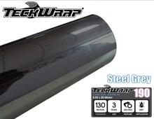 4.7mil Steel Grey TeckWrap High Quality Chrome Mirror Vinyl Wrap