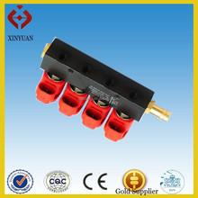 Lpg cng inyector del carril para cng lpg kit de conversión
