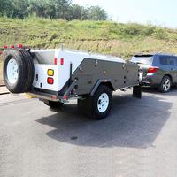 4850x1903x1508mm rear folding off road camper trailer for sale