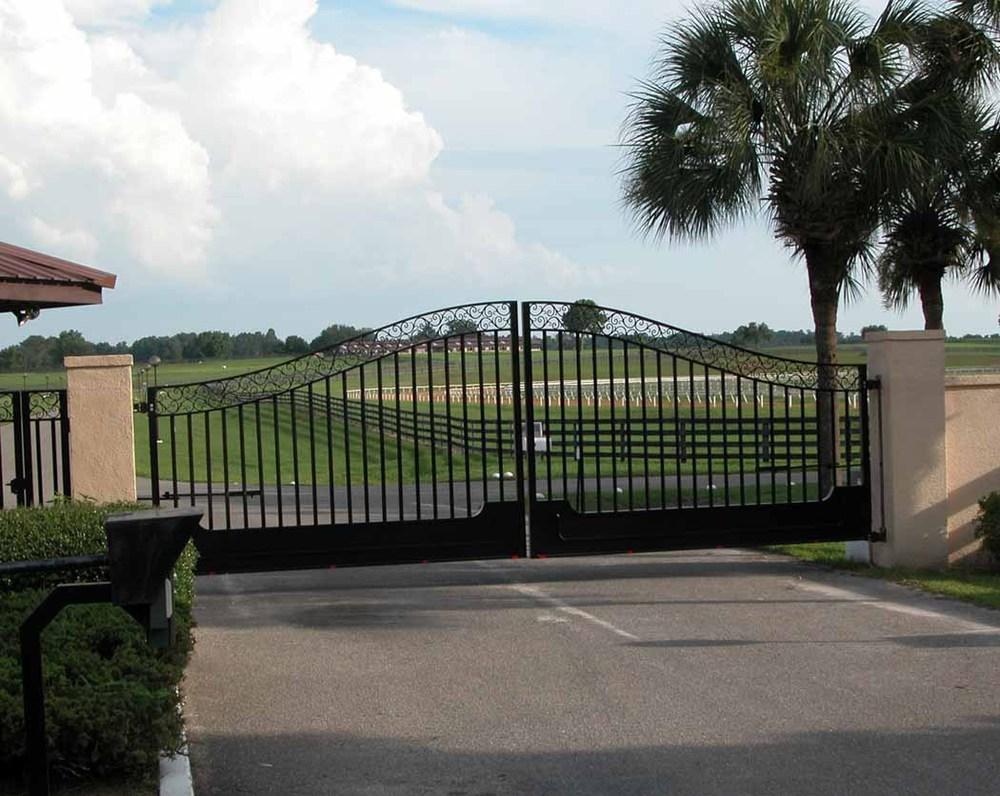 Aluminium modern ijzeren hek ontwerpen hekwerk, trellis en poorten ...