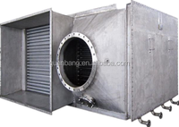 Air to air heat pipe heat recovery exchanger