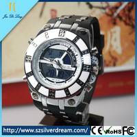 cheap mens silicone sport watch chinese exporters
