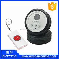 Tyre Shape Elderly Emergency Alert System / Wireless Security Call Button Aalarm System for Eldery