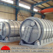 high output waste tyre to fuel oil recycling machine