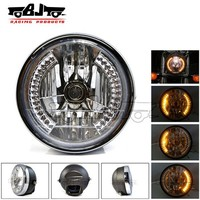BJ-HL-007 2014 New ATV racing 35W amber dirt bike motorcycle universal vision headlight