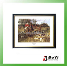2015 Famous Handpainted Cowboy Oil Painting,Modern Hanging Picture on Canvas