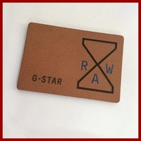 Custom Garment Leather Label for Leather Coat