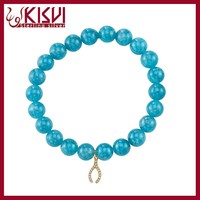 fashion accessory jewelry natural stone bead bracelet for women wholesale
