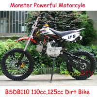 CE ISO EPA provided Pit Bike Motorcyle 110cc 125cc Dirt Bike
