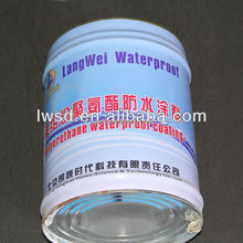 Polyurethane waterproofing coating/polyurethane resin/waterproof coating for tiles for building material