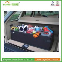 2015 New foldable bag/box car organizer, convenient car trunk organizer
