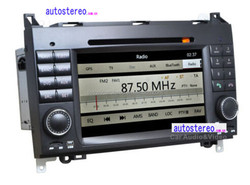 Autostereo Car Audio System for Mercedes A Class W169 Car Radio with GPS DVD BT PIP SWC D-TV DVR RCA MP3 MP4 Touch Screen