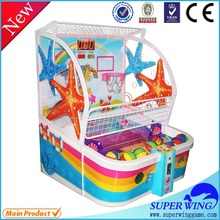 Luxury amusement new product child basketball games mini kids street basketball