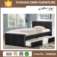 SS8084 double bed with storage bed set furniture