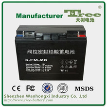 HOT SALE Small sealed lead acid battery 12v 20ah power tool batteries