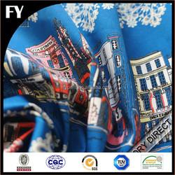 Custom new design high quality digital printed free sample of cotton fabric