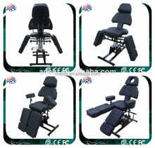 Professional permanent makeup tools hydraulic facial bed spa table tattoo salon chair