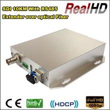 Good price 10km SDI extender over fiber optical with RS485