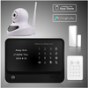 smart home alarm wifi GSM GPRS security system work with wifi IP cameras and wireless RFID keyboard