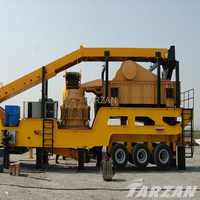 Reliable crushing mobile machine manufacturer for aggregate producion plant