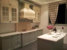 Fresh Style Tiffany Color modular entire kitchen cabinet