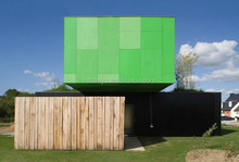 Cross Box Container Home