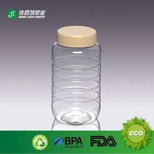 transparent empty honey pet bottle recycling
