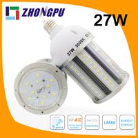 LED Corn Light 27w E27 E40 IP65 360degree for Outdoor Street Light Retrofit
