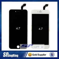 for iPhone 4,4s,5,5s,5c,6,6plus Genuine LCD and Touch Screen Digitizer in Black (With Internal Parts)